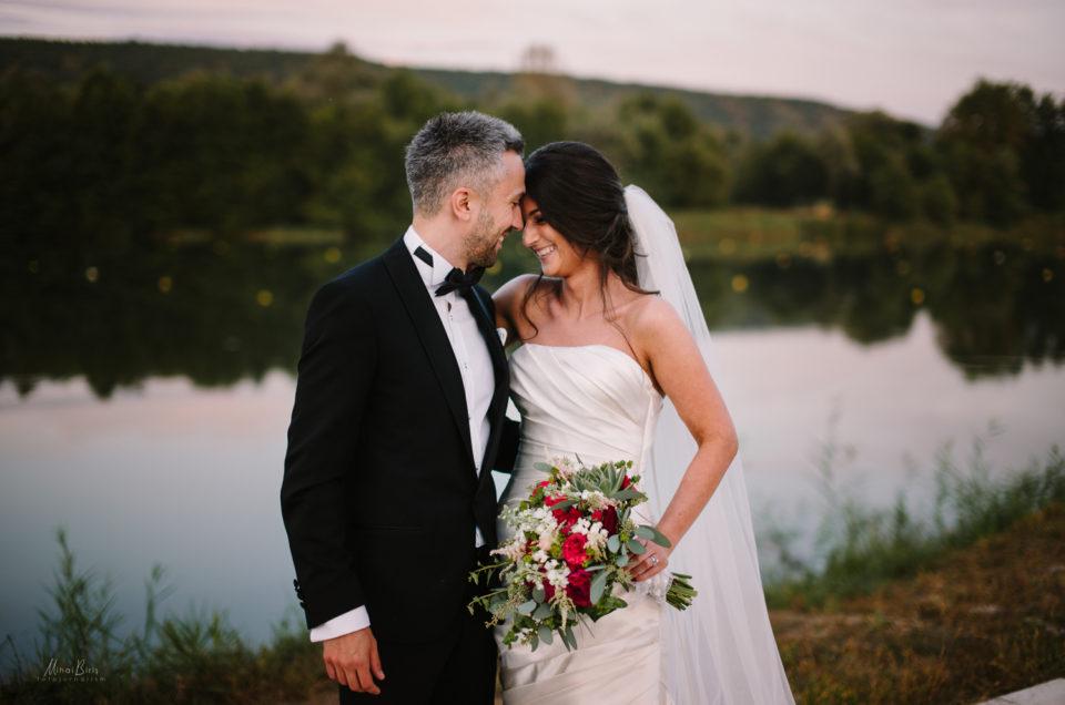 Alexandra si Daniel wedding day in Pitesti