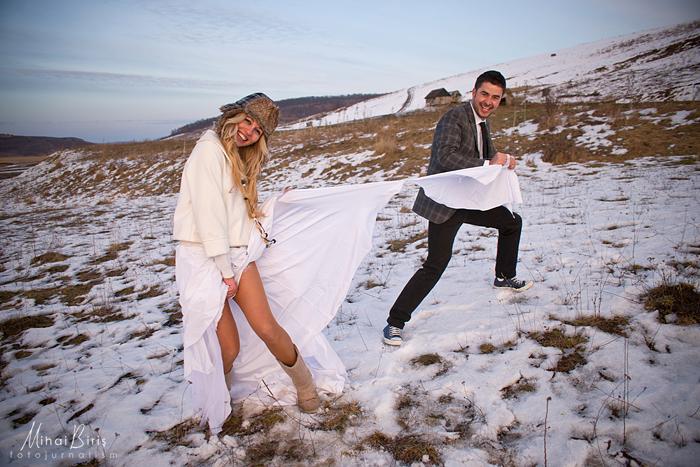 Andreea si Claudiu – trash the dress